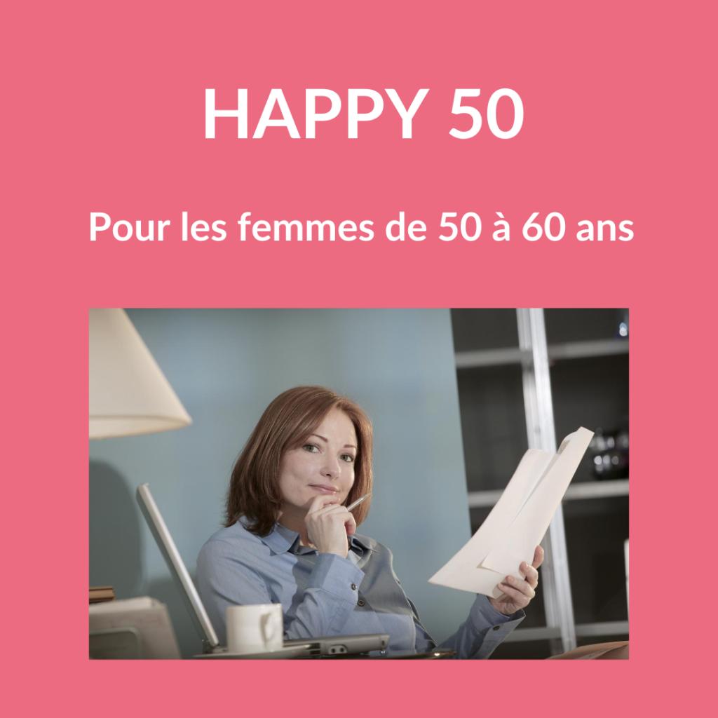 Accompagnement femmes de 50 ans